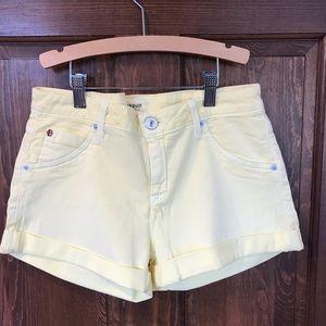 Hudson Hampton Short Yellow 28 New